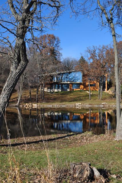 Lake Kegonsa House modern-landscape