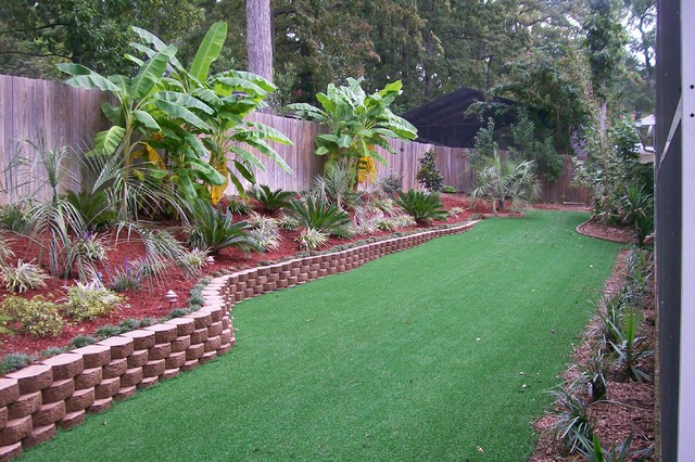 tropical landscape other metro by tall pines landscaping llc