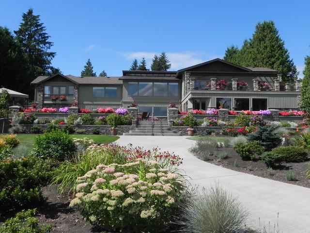 Lake Stevens Residence Traditional Landscape Seattle