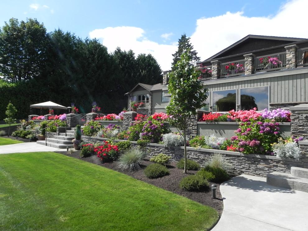Lake Stevens Residence - Traditional - Landscape - Seattle ...