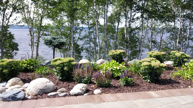 Lakefront Landscaping Rustic Landscape Other By Tough Oaks