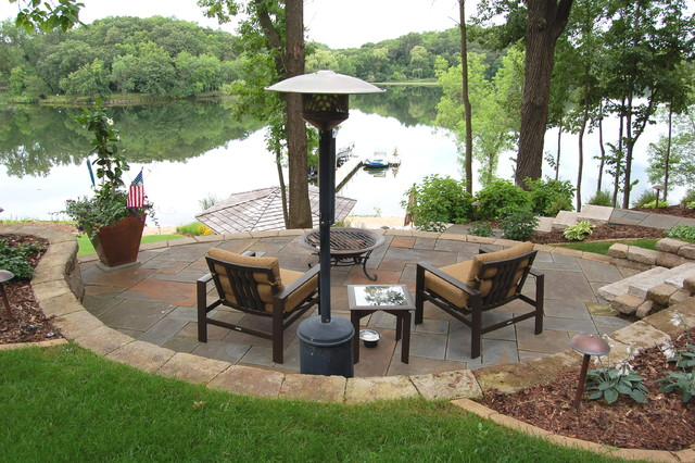 Lakeside Gardens Amp Hardscapes Traditional Landscape