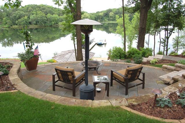 Lakeside Gardens amp Hardscapes Traditional Landscape