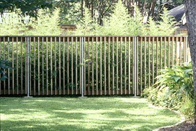 Lakewood Fence And Gate Modern Landscape Dallas By