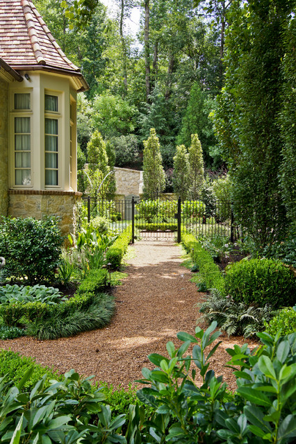 Landscape and pool design traditional landscape for Associate landscape architect