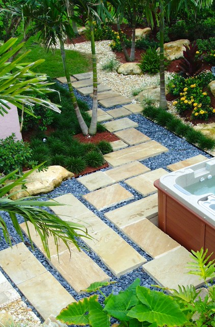 Landscape Design Ideas South Florida Tropical