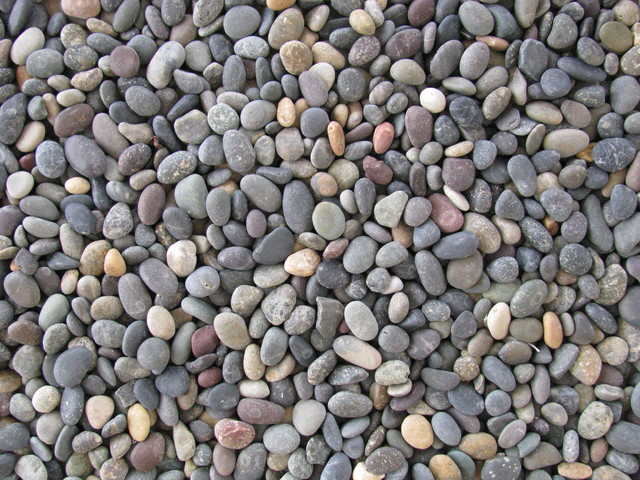 Landscape Design Pebbles Stone And Rock Contemporary