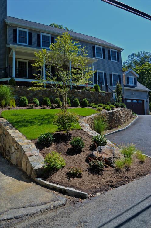 Landscape Front & Back | Pleasantville NY