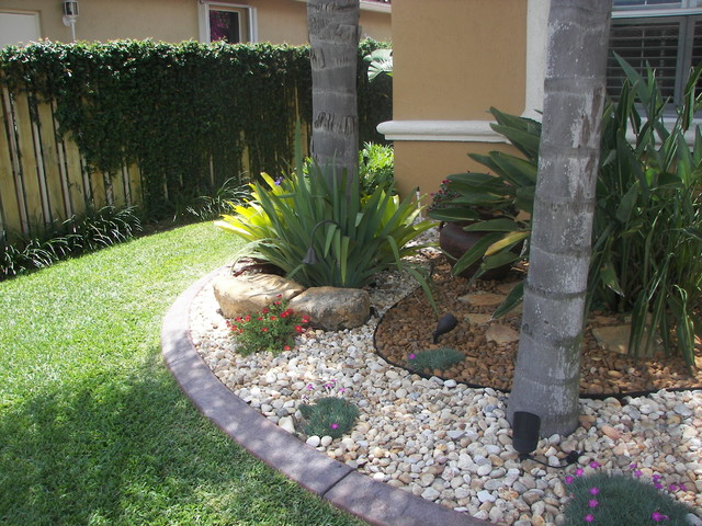 Landscape for Landscaping rocks and plants