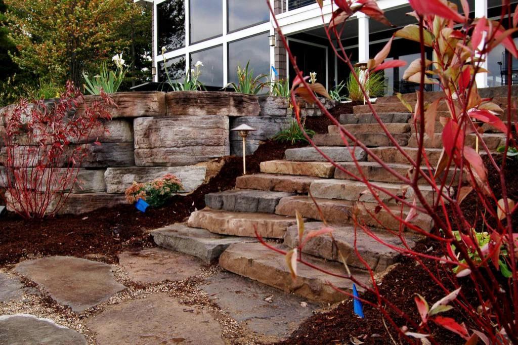 Landscape Installer & Designer of Patios, Waterfalls, Walkways & Porches
