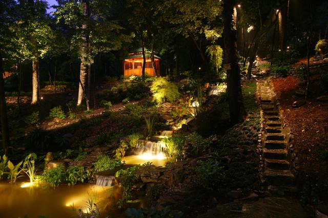 Landscape Lighting Design Ideas outdoor lighting ideas and designs Garden Design With Landscape Lighting Ideas With Nice Backyards From Houzzcom
