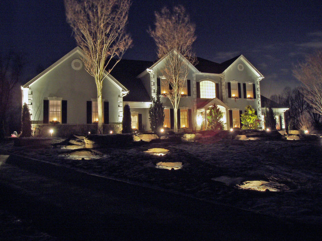 landscape lighting ideas pictures