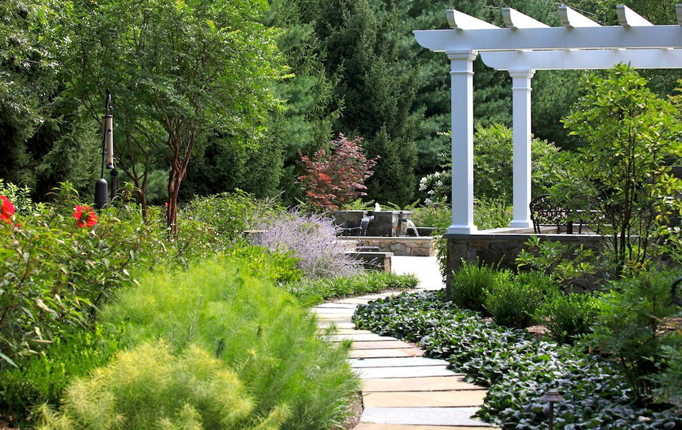 Design ideas for a traditional landscaping in DC Metro.