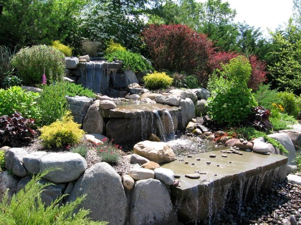 Landscape Walkways, Pergolas, Perennial Gardens, Shrubs & Trees