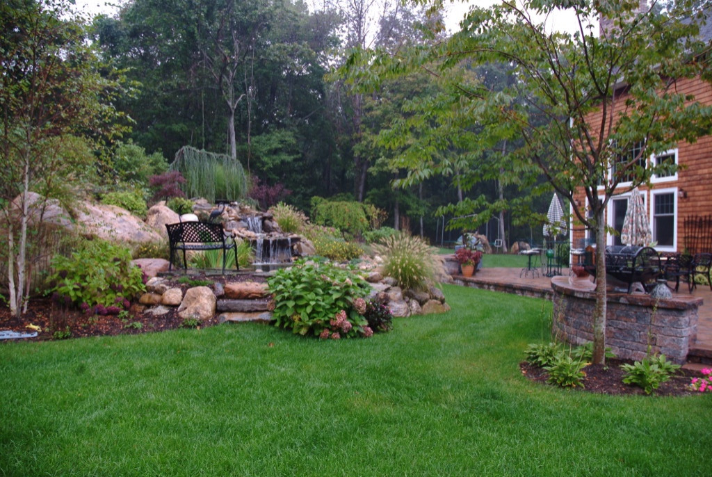 Landscape Walkways, Pergolas, Perennial Gardens, Shrubs & Trees