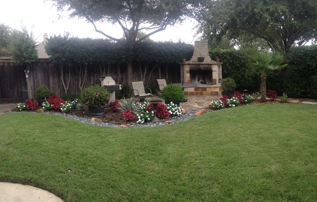 Landscaping carrollton modern landscape dallas by for Home turf texas landscape design llc houston tx