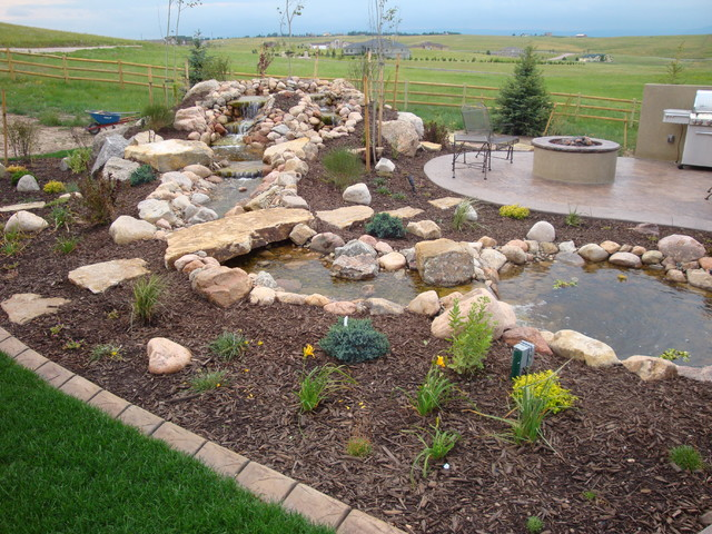 Landscaping Ideas for Colorado front range traditional-landscape