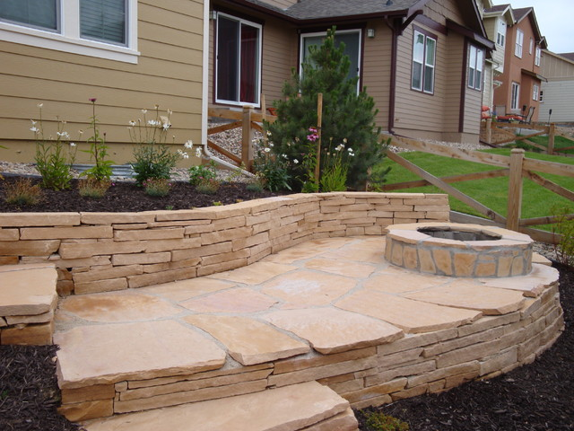 Landscaping Ideas for Colorado front range traditional landscape