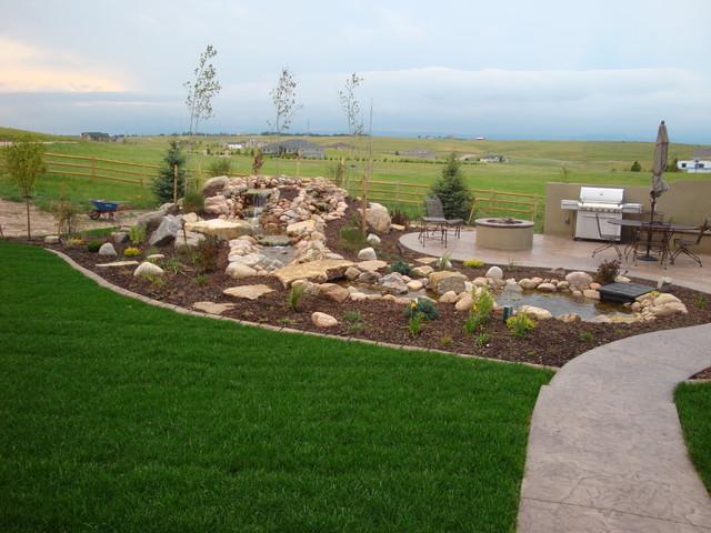 Landscaping Mulch Denver : Landscaping ideas for colorado front range traditional landscape