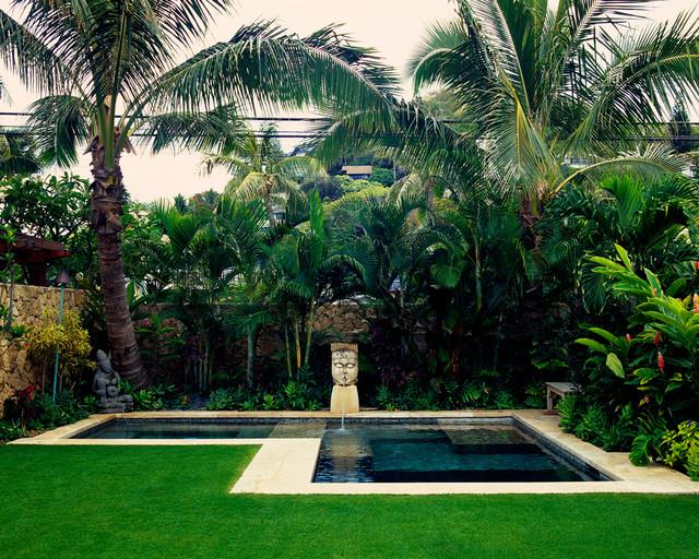 Lanikai Beach Balinese Tropical Landscape Hawaii