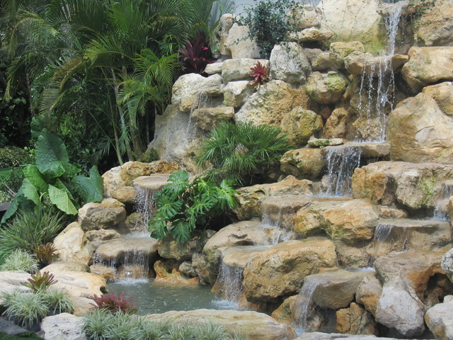 Waterfalls In Florida Tropical Landscape Other By
