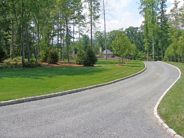 Large estate landscape design traditional landscape for Estate landscape design