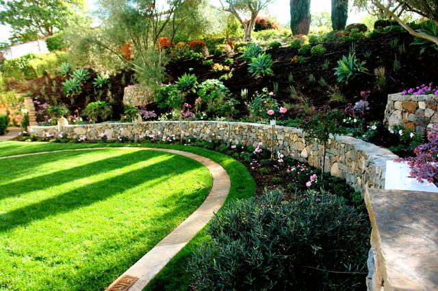 las villas mediterranean landscape san diego by