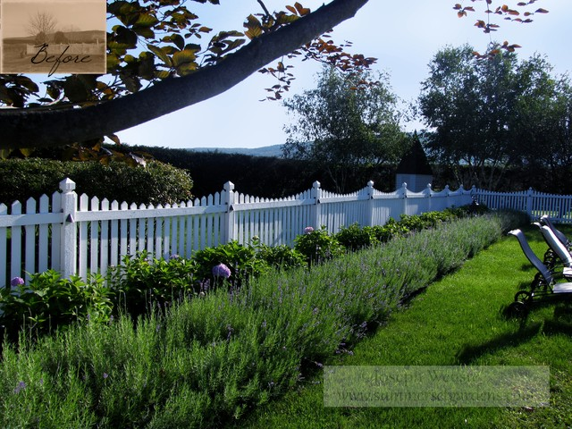 Lavender Pool Garden traditional-landscape