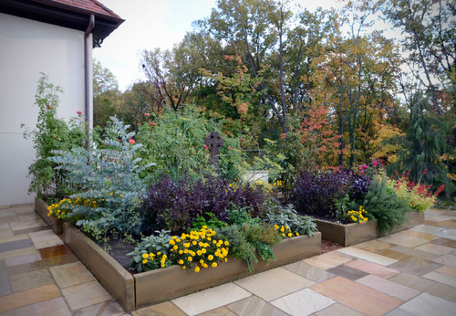 contemporary landscape gardening outdoor