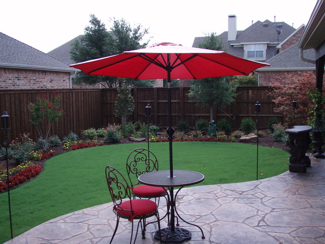 Lewisville Landscaping Traditional Landscape Dallas