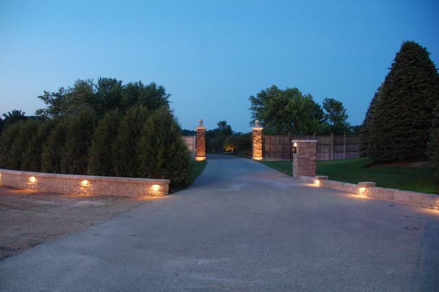 Gate Entrance To Private Estate