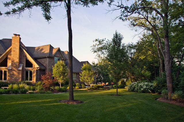 Lisle Residence traditional-landscape