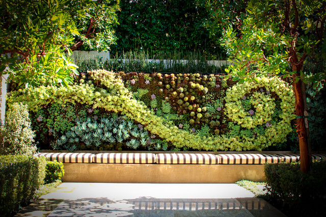 Living Walls Contemporary Landscape los angeles by