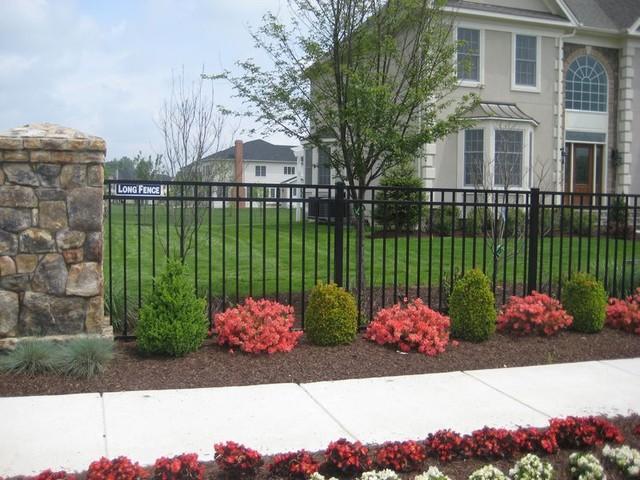 Long Fence contemporary-landscape