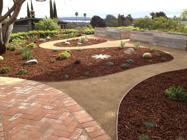 Low Maintenance & Low Cost Backyard - American Southwest - Garden - San Diego - By Southwest Boulder & Stone