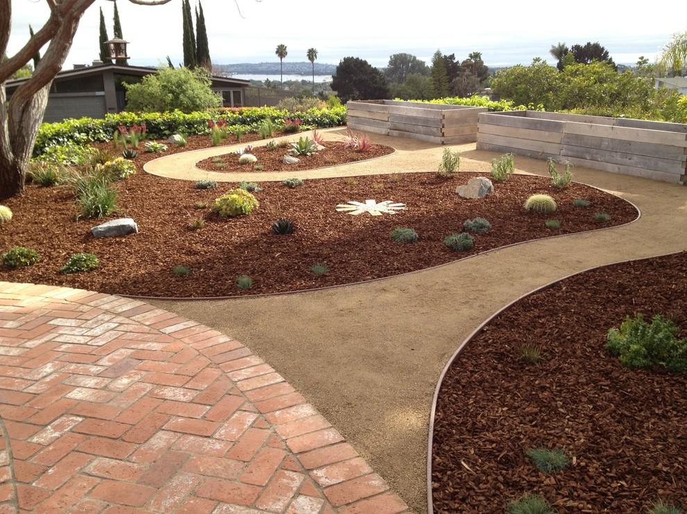 Low Maintenance Low Cost Backyard Southwestern Landscape