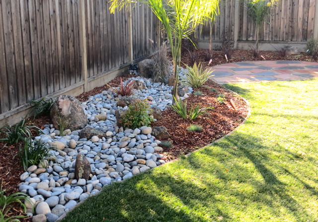 Merveilleux Inspiration For A Mid Sized Transitional Backyard Landscaping In San  Francisco.