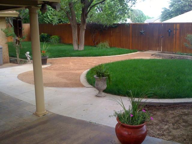 Lubbock Landscape Design Install Maintain Austex Landscape Austin Wann modern-landscape