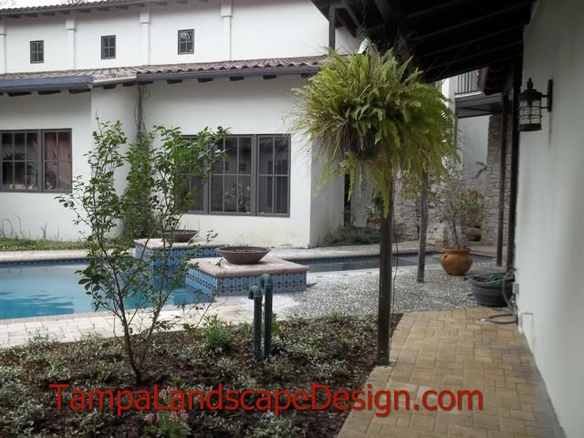 Lutz north tampa spanish moroccan landscape design for Landscape design tampa
