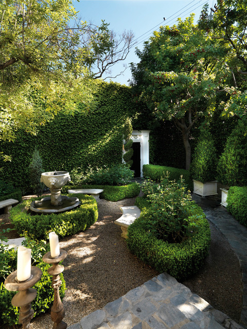 Luxe west hollywood residence traditional landscape for Garden design los angeles