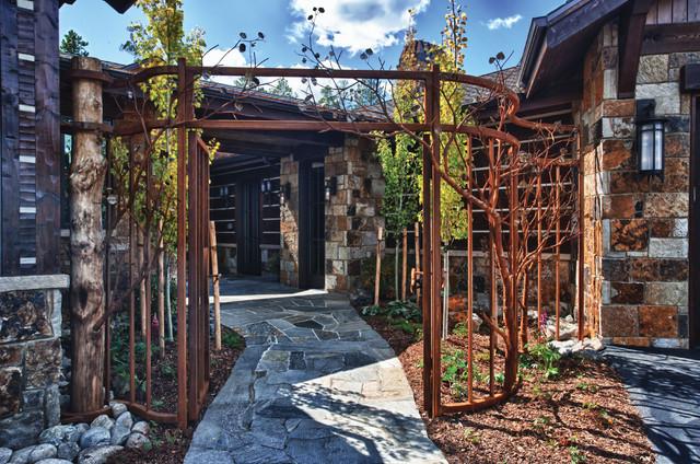 Luxurious Mountain Home contemporary-landscape