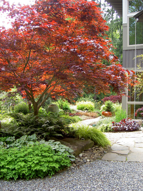 Lytle Road Bainbridge Island Traditional Landscape