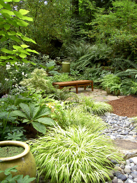 garden landscaping ideas for wet shady areas pdf