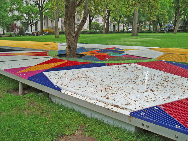 Madison Square Park: McNICHOLS® Bar and Fiberglass Grating - Modern - Landscape - Tampa - by ...