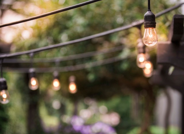 How To Hang String Lights Outdoors