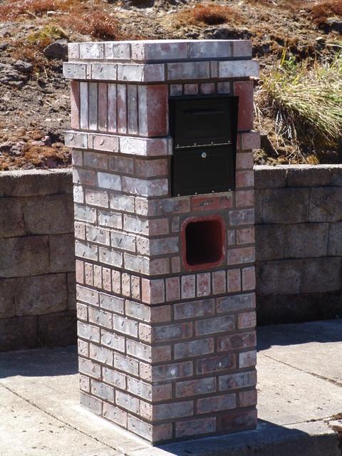 Mailbox - Traditional - Landscape - portland - by Brown Bros. Masonry