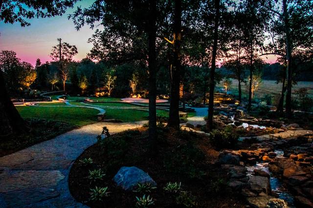 Mallard Lodge eclectic-landscape
