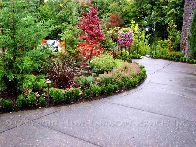 Malone Landscaping Project contemporary landscape