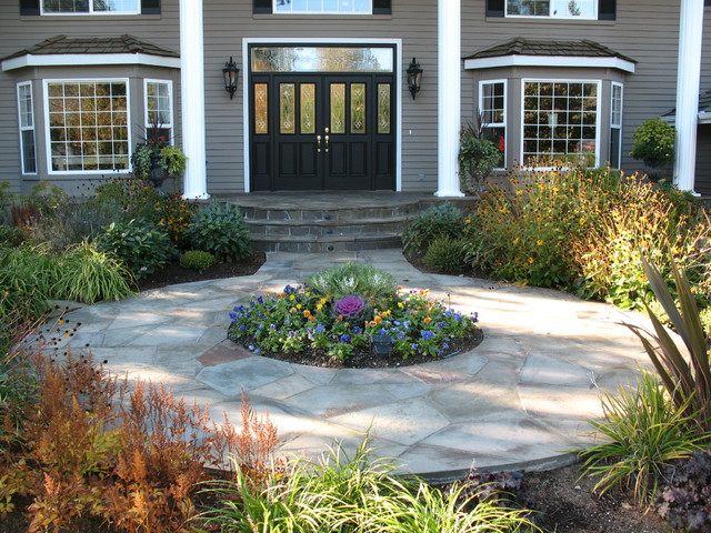 Malone's Landscape Design | Build traditional-landscape