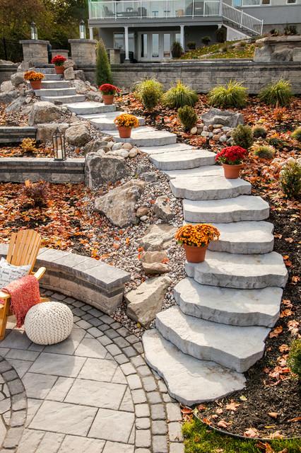 Maya Steps - Ottawa, Canada traditional-landscape